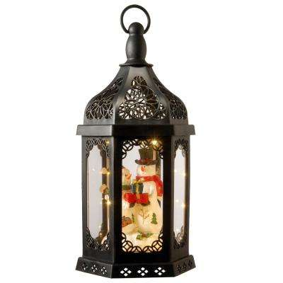 15 in. Lighted Holiday Lantern
