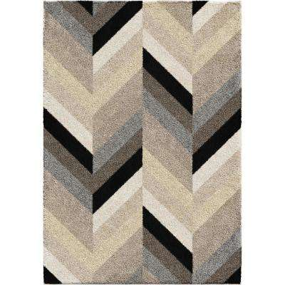 Glass Chevron Multi 7 ft. 10 in. x 10 ft. 10 in. Area Rug