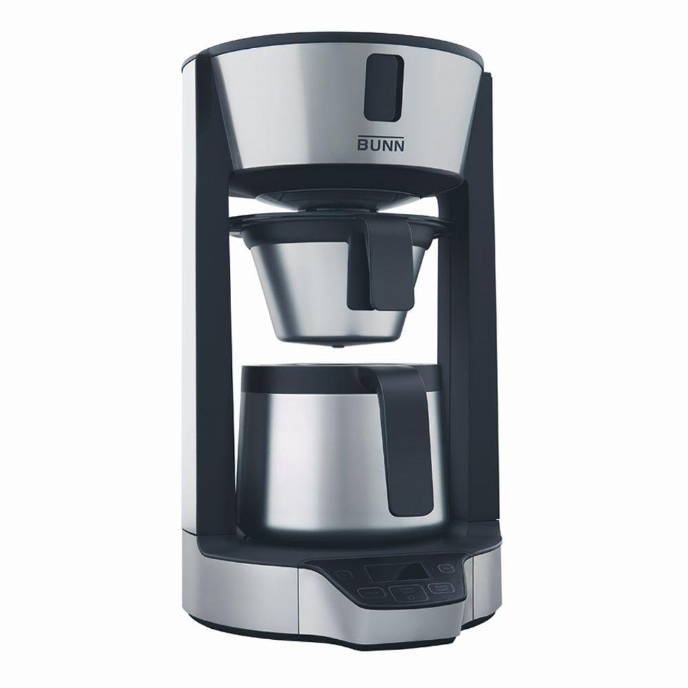 Bunn Phase Brew High Altitude 8-Cup Thermal Carafe Home Brewer