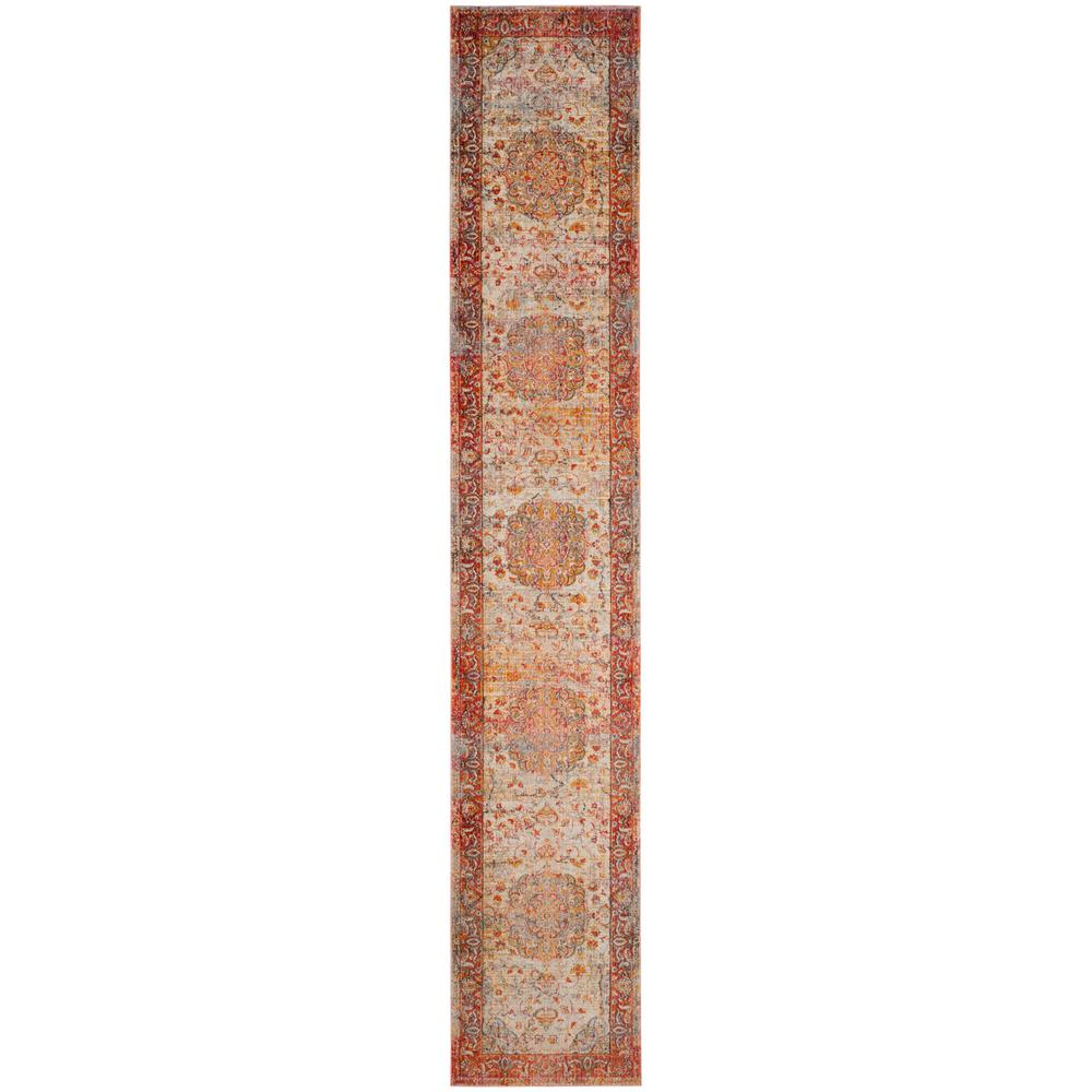 Safavieh Vintage Persian Saffron Cream 2 Ft X 12 Runner Rug