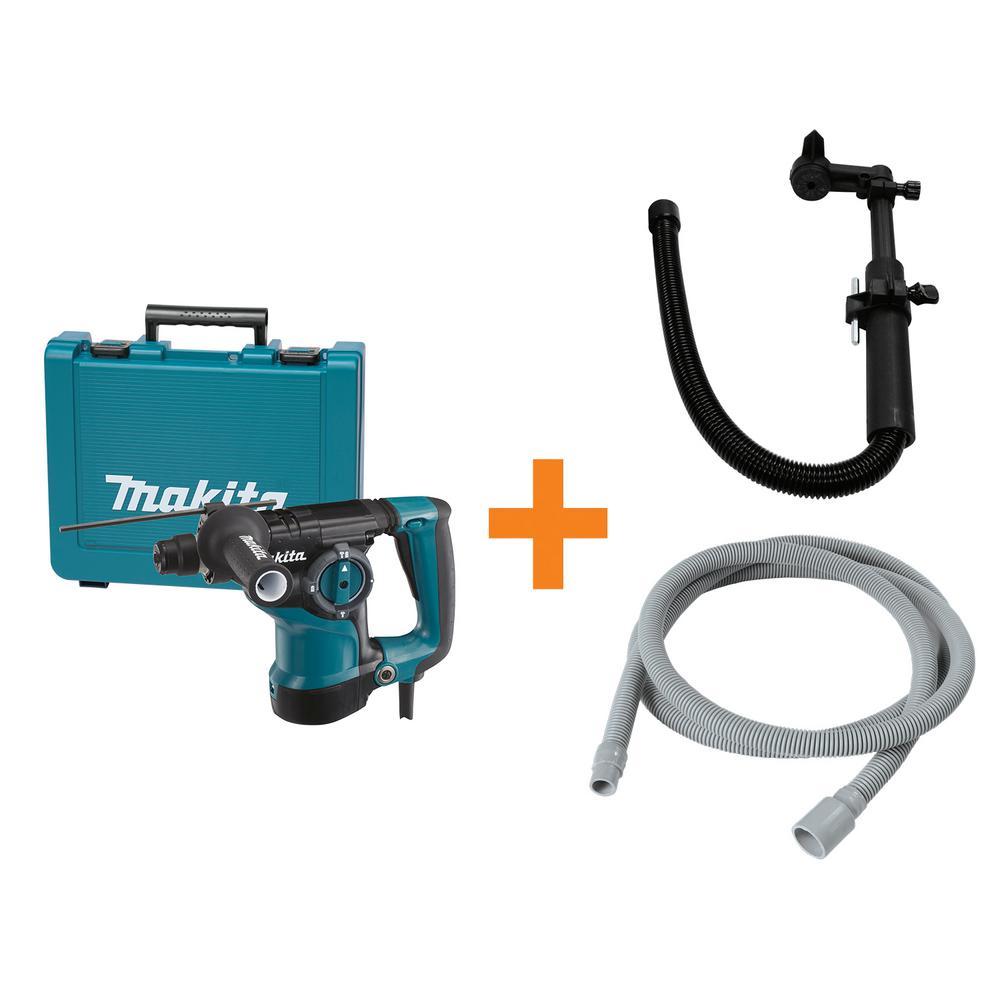 1-1/8 in. Rotary Hammer Drill/Bonus 3/4 in. x 10 ft. Vacuum