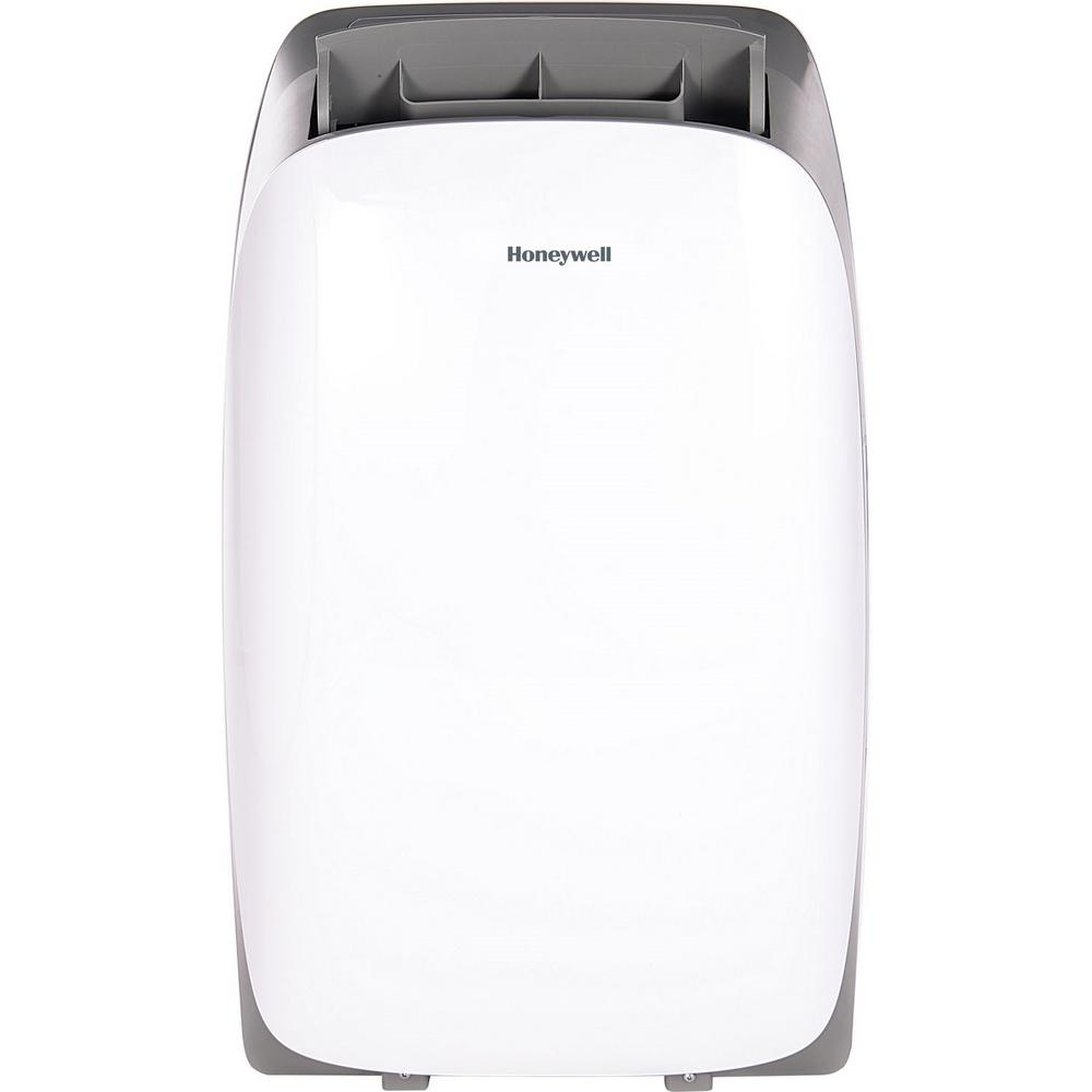 Honeywell HL Series 12,000 BTU, 115-Volt Portable Air Conditioner with  Dehumidifier and Remote Control in White and Gray