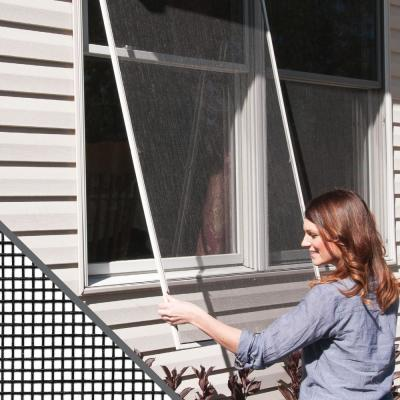 48 in. x 84 in. Charcoal Fiberglass Window Screen