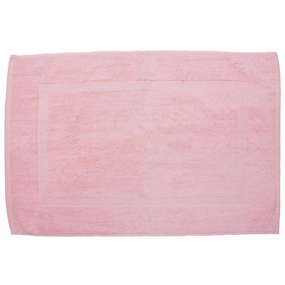 20 In X 30 In Pink Provence Bath Mat 8684 The Home Depot