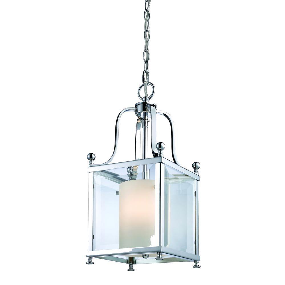 Filament Design Lawrence 3-Light Chrome Candelabra Ceiling Pendant