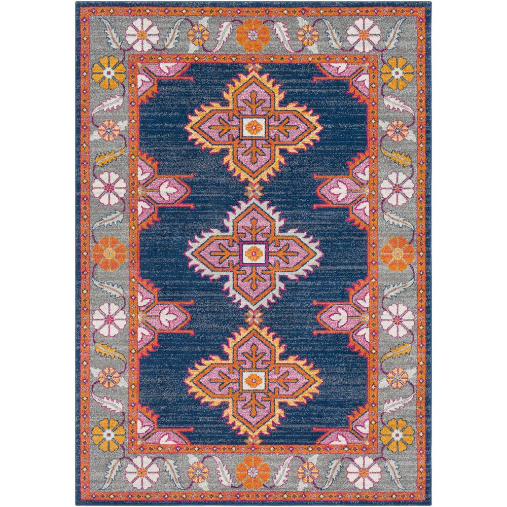 Artistic Weavers Agnetha Dark Blue 6 ft. 7 in. x 9 ft. Area Rug was $450.0 now $151.8 (66.0% off)