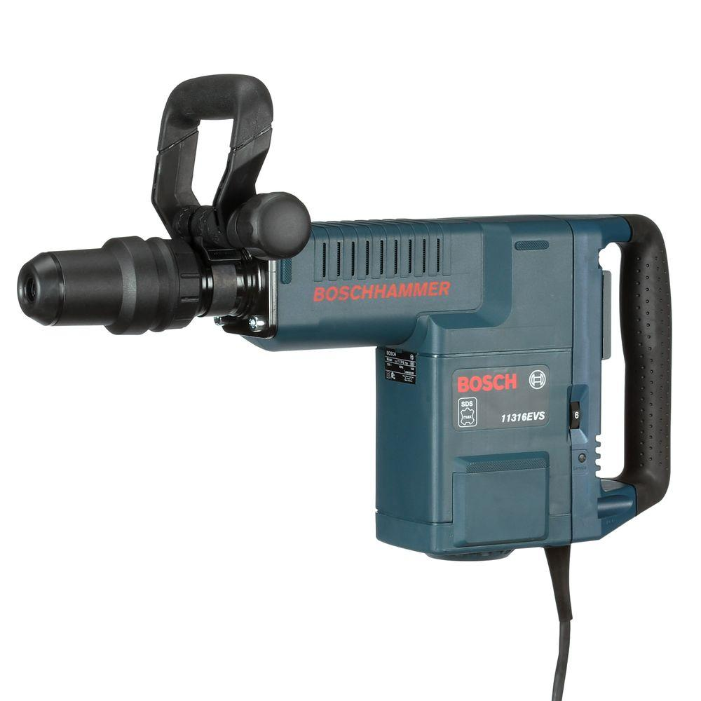 14 Amp 1-9/16 in. Corded Variable Speed SDS-Max Demolition Hammer with