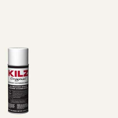 Original 13 oz. White Oil-Based Interior and Exterior Primer, Sealer, and Stain Blocker Aerosol