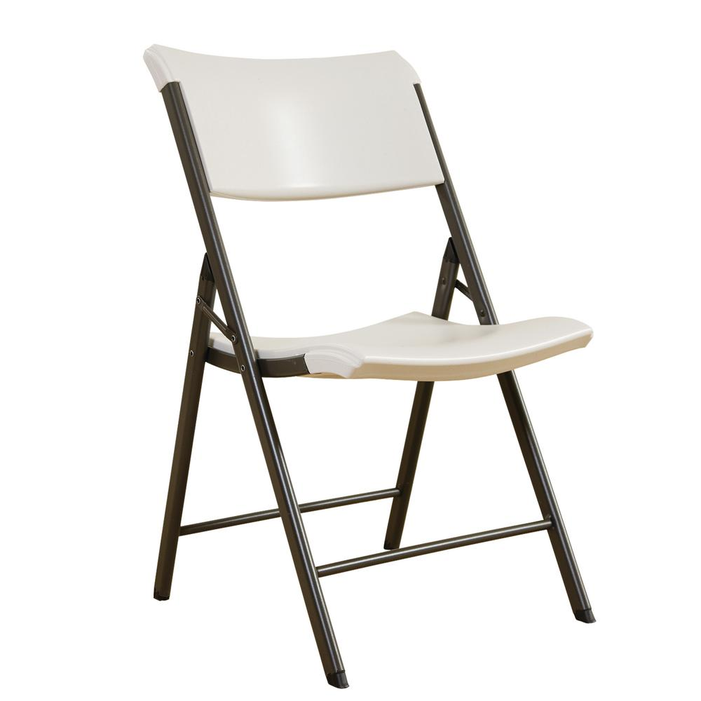 Contemporary Commercial Almond Folding Utility Chair ...