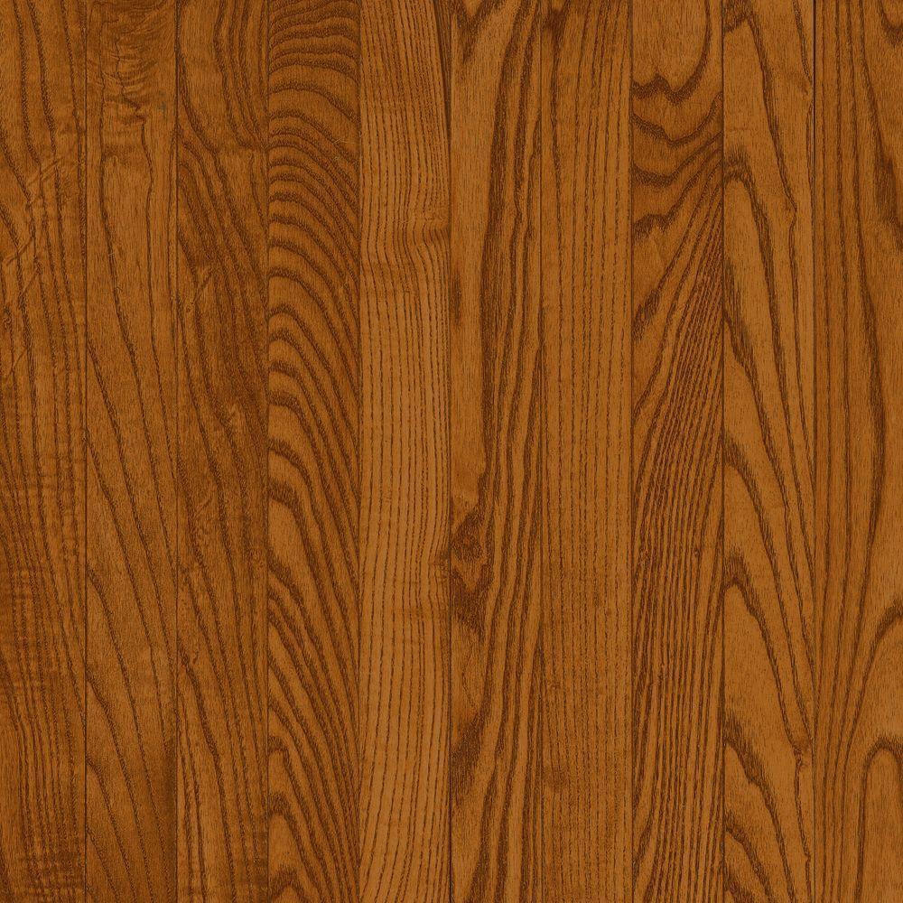 Bruce Take Home Sample - American Originals Copper Dark Oak Solid Hardwood Flooring - 5 in. x 7 in.