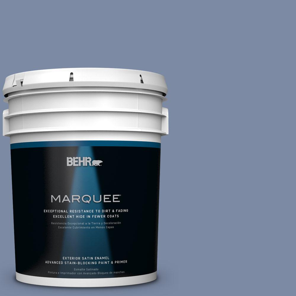 BEHR MARQUEE 5-gal. #PPU15-9 Hilo Bay Satin Enamel Exterior Paint