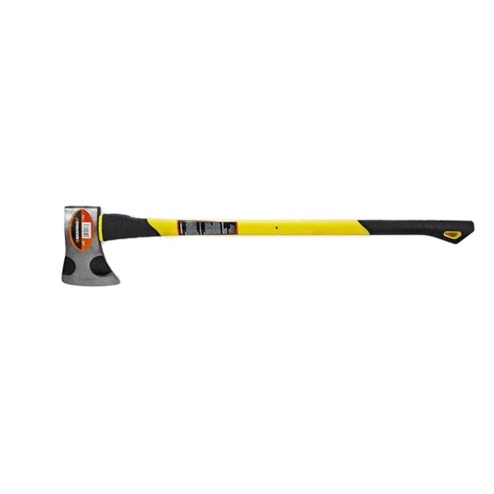 ROCKFORGE Premium 3-1/2 lb. Axe with 33 in. Fiberglass Handle