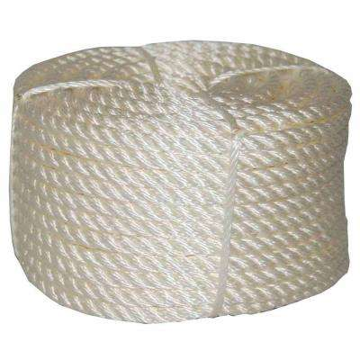 1/2 in. x 50 ft. Twisted Nylon Rope Coilette