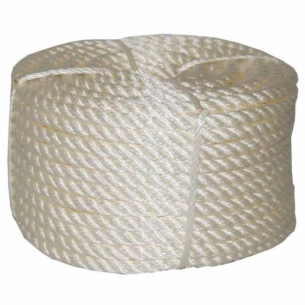 3/8 in. x 100 ft. Twisted Nylon Rope Coilette