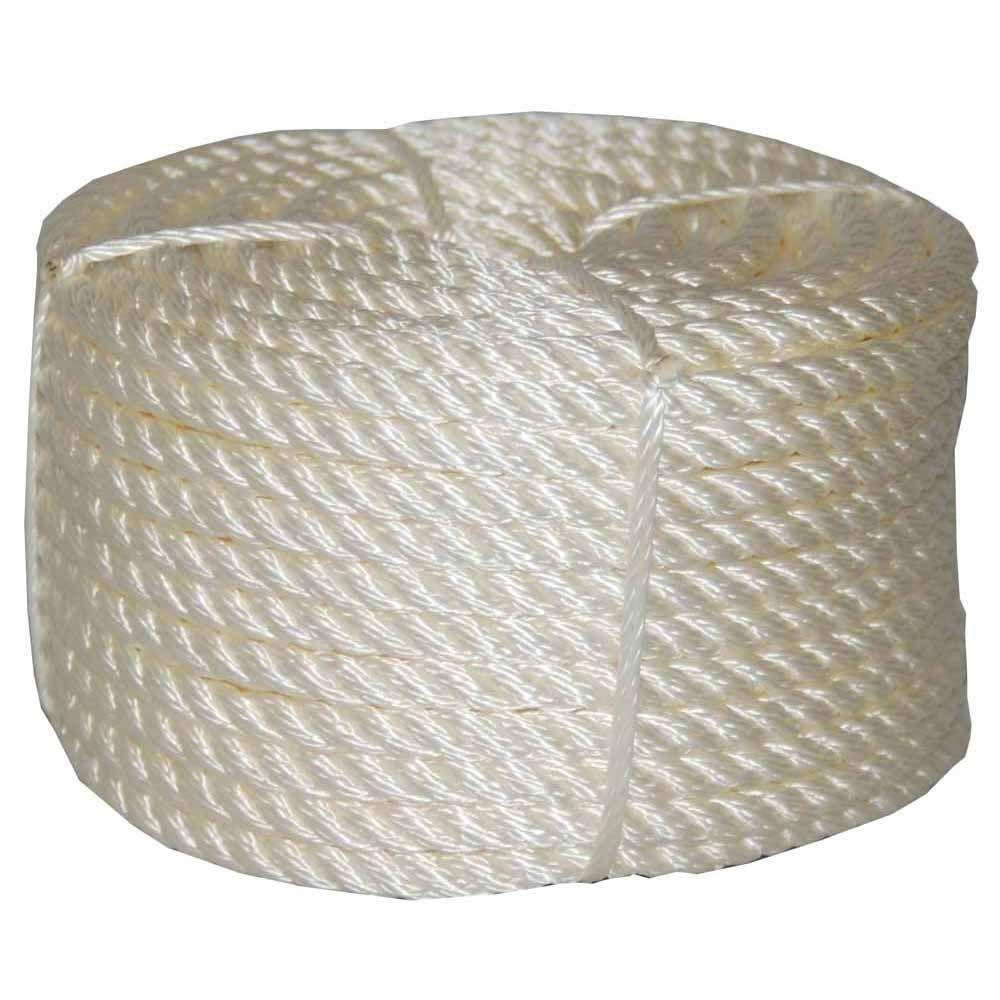 T.W. Evans Cordage 5/16 in. x 50 ft. Twisted Nylon Rope Coilette