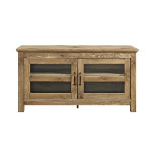 44 in. Wood TV Media Stand Storage Console - Barnwood