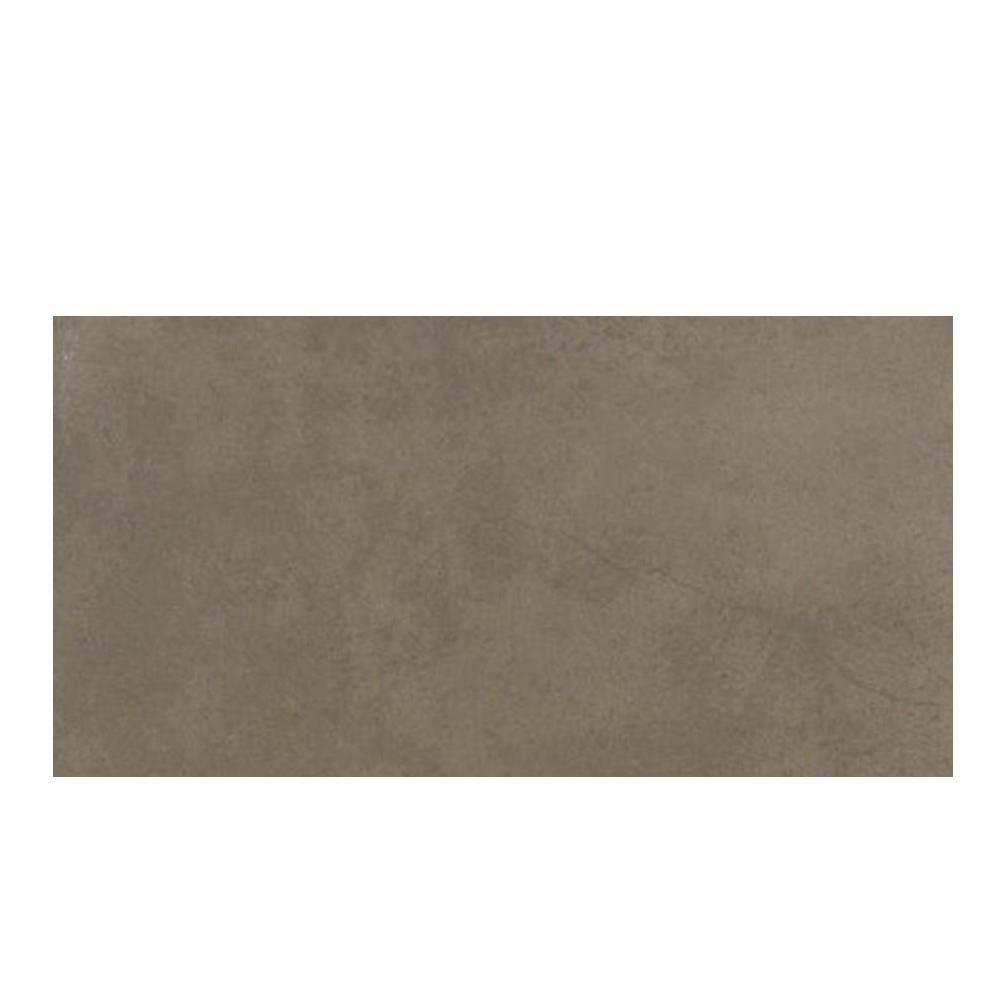 Daltile Veranda Leather 4 in. x 20 in. Porcelain Surface Bullnose Floor and Wall Tile-DISCONTINUED