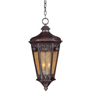 Maxim Lighting Lexington Vivex 3-Light Colonial Umber Outdoor Hanging Lantern by Maxim Lighting