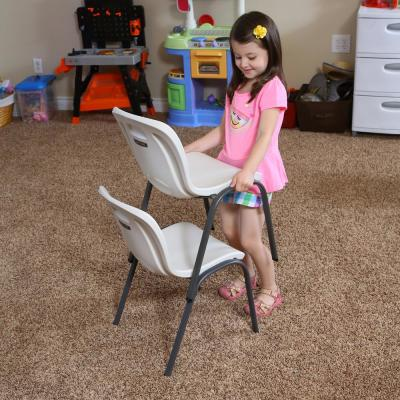 Lime Green Stacking Kids Chair (Set of 13)