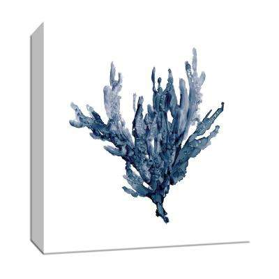15 in. x 15 in. ''Sea Coral I'' Canvas Wall Art