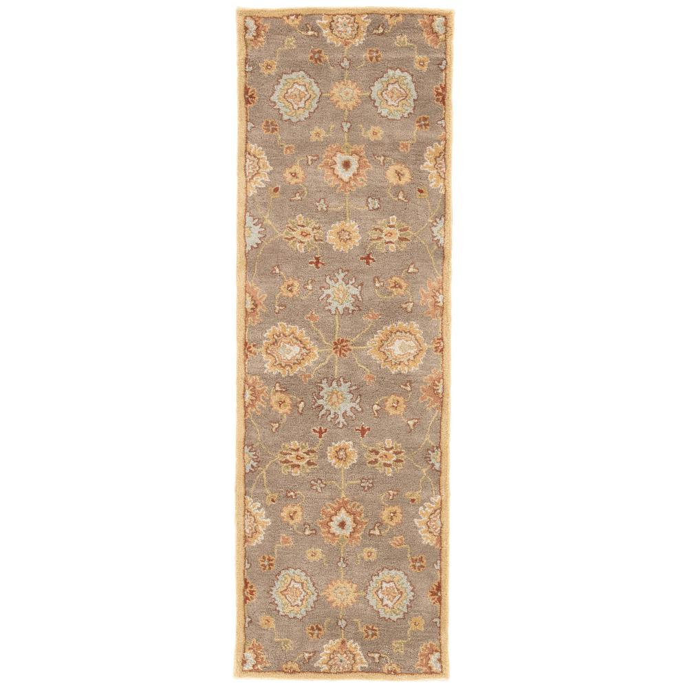 Brindle 3 ft. x 12 ft. Oriental Runner Rug