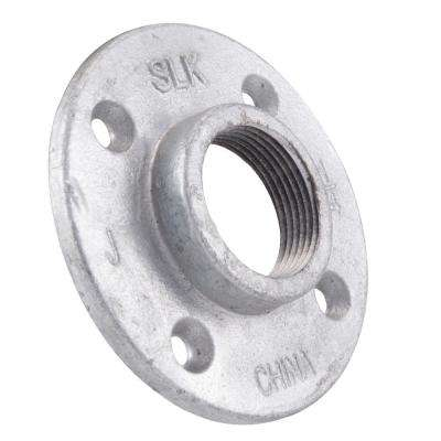 1-1/4 in. Galvanized Iron Floor Flange