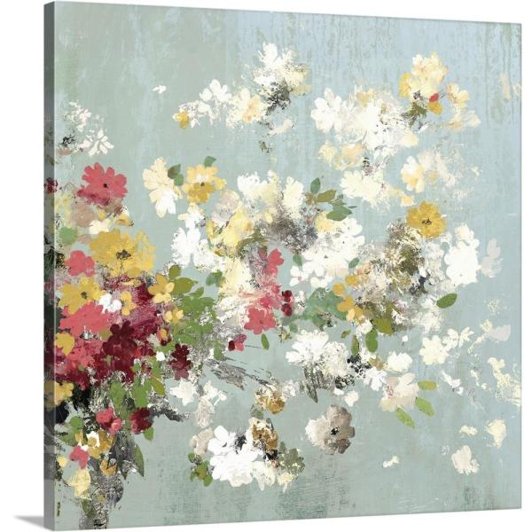 GreatBigCanvas ''Abstract Bouquet II'' by Allison Pearce Canvas Wall Art