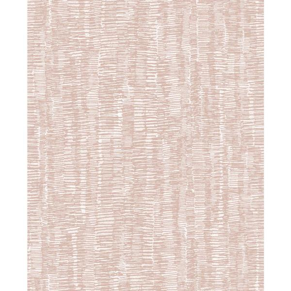 A-Street 56.4 sq. ft. Hanko Salmon Abstract Texture Wallpaper 2889-25247