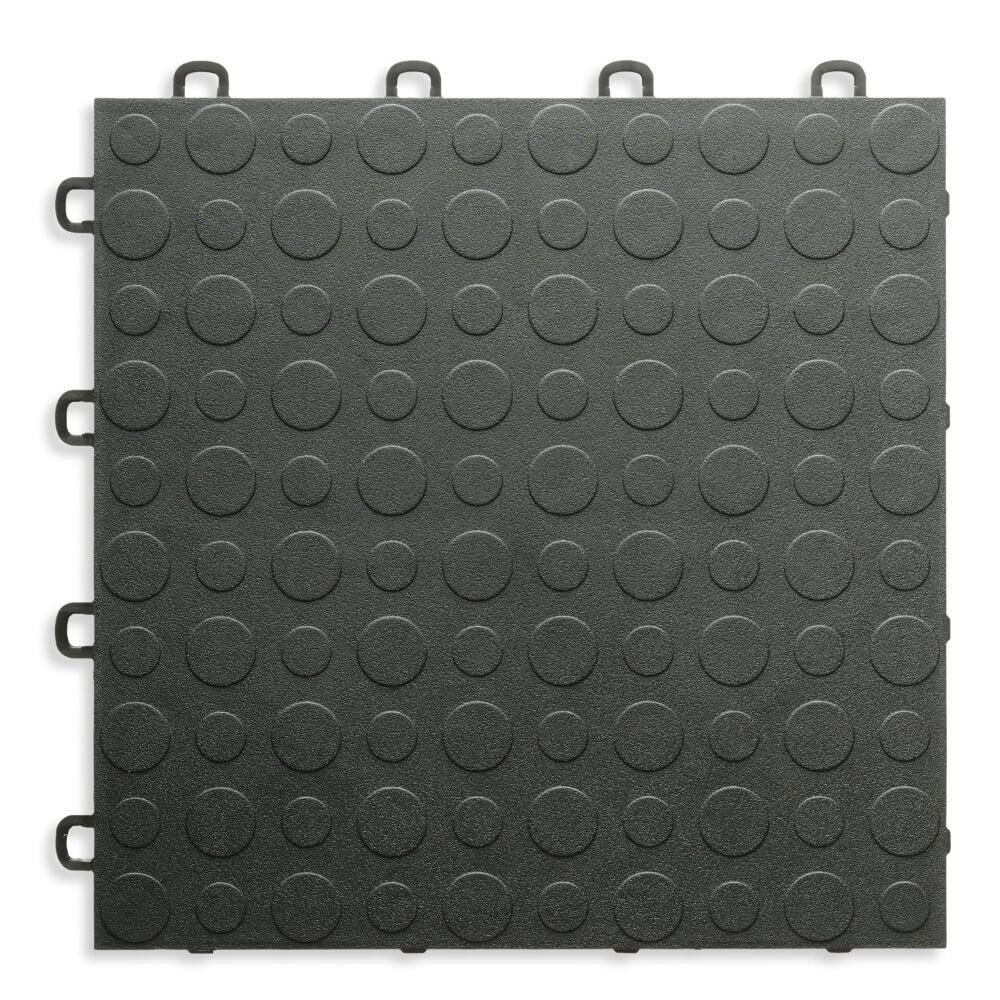 Black - 12 in. x 12 in. Modular Interlocking Garage Floor Tile (Set of 30)