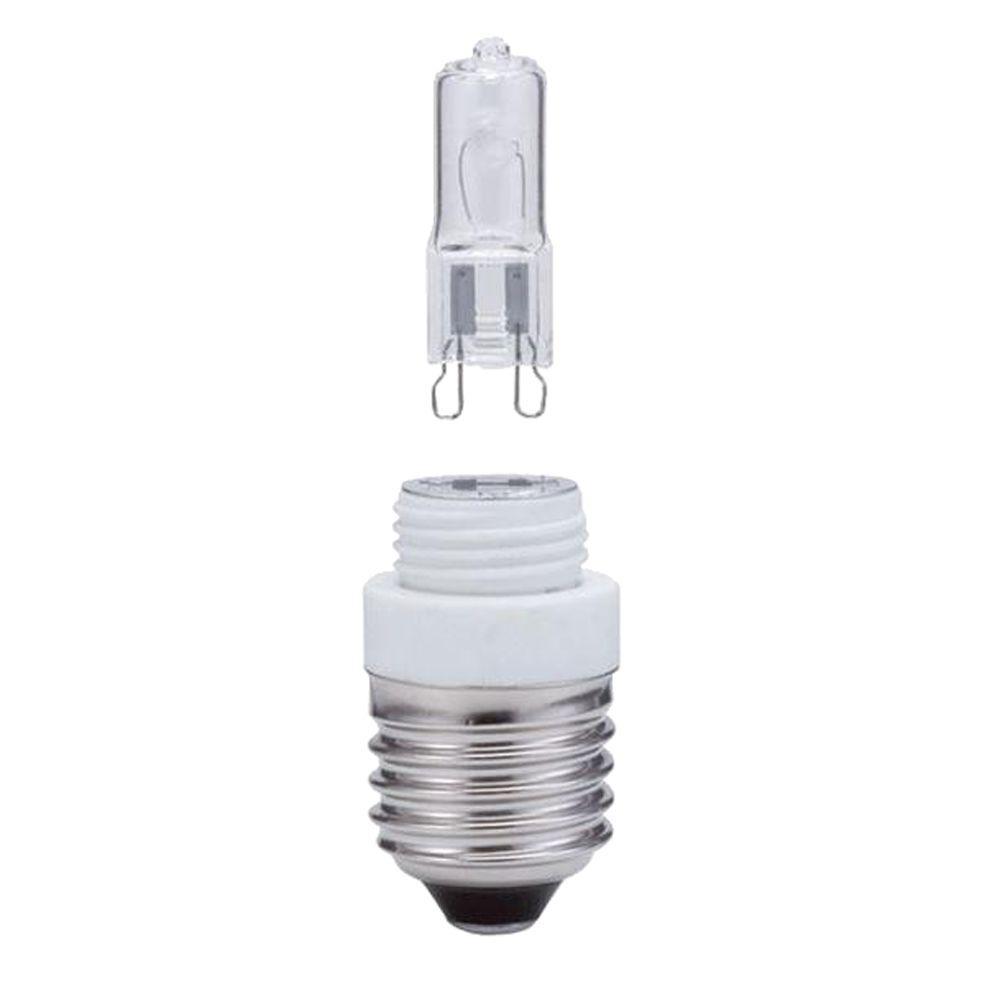 null 33-Watt Halogen G9 Medium Base Light Bulb E26 1,500 Hours