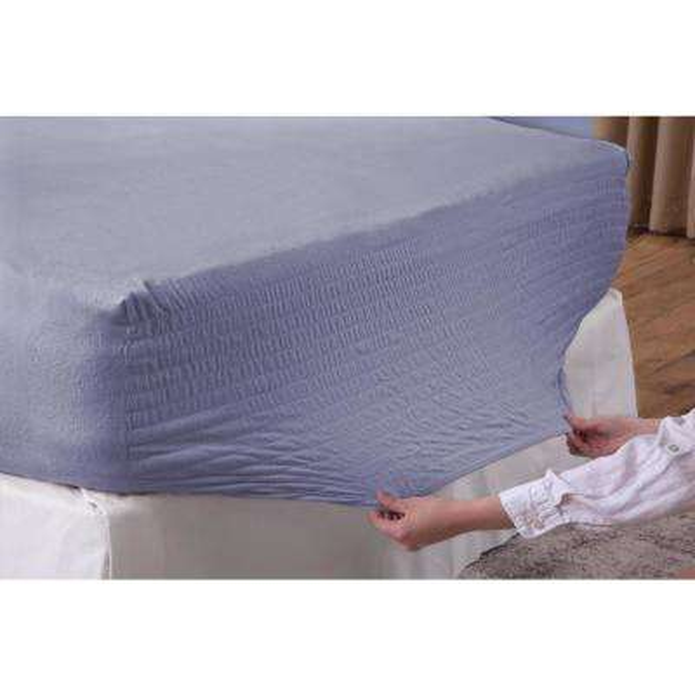 Slate Blue King Flannel Sheet Set