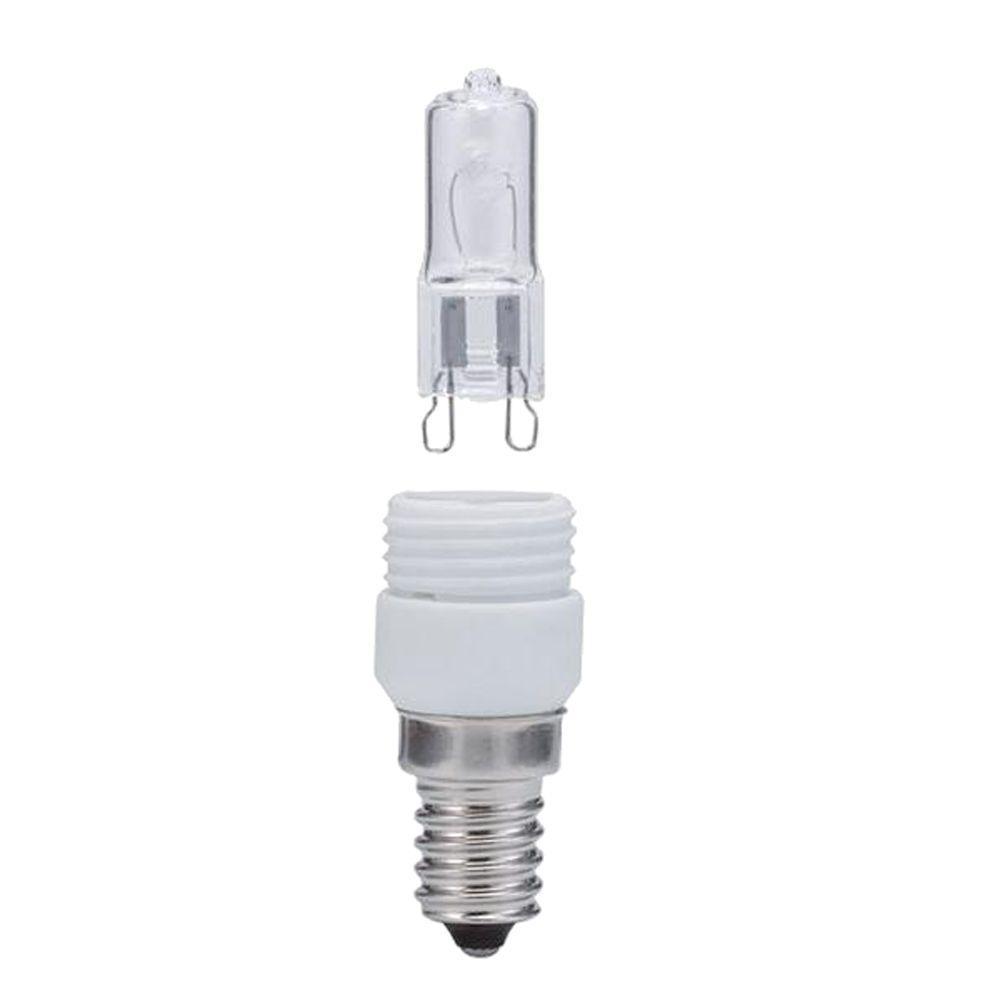 null Paulmann DecoHalogen 33 W G9 Candelabra Base (E12) Light Bulb 1500hrs