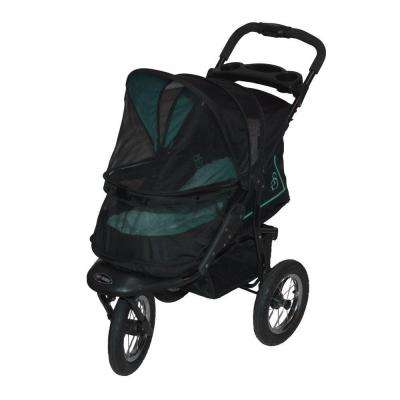 30 in. L x 13 in. W x 22 in. H NV Pet Stroller in Skyline