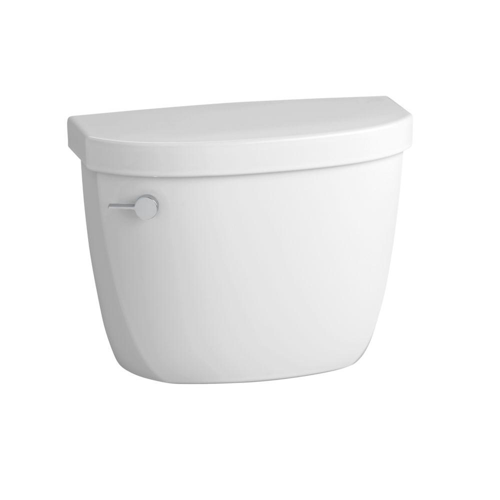 Cimarron 1.6 GPF Single Flush Toilet Tank Only with Tank Locks