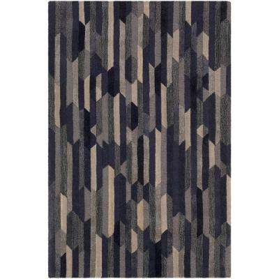 Montmartre Navy 5 ft. x 8 ft. Area Rug
