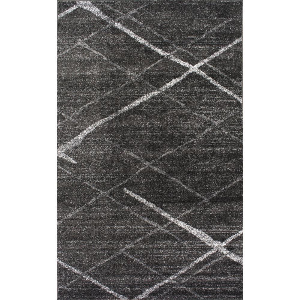 Thigpen Dark Grey 7 ft. 6 in. x 9 ft. 6 in. Area Rug