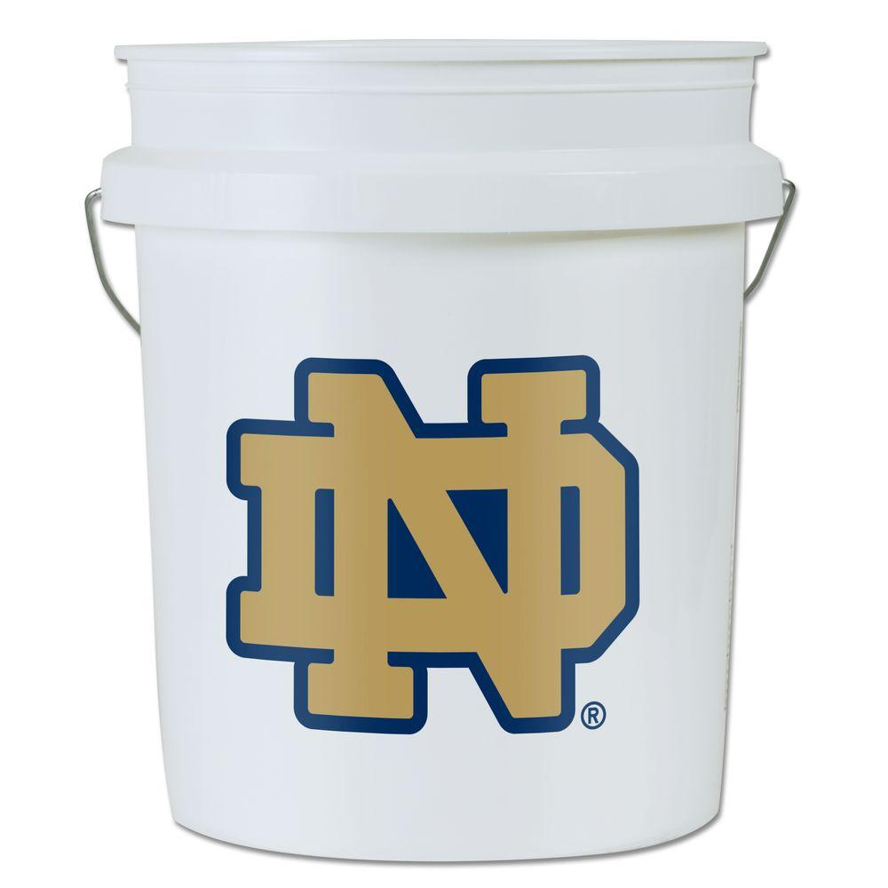null Notre Dame 5-gal. Bucket (3-Pack)