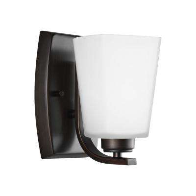 Waseca 1-Light Burnt Sienna Sconce