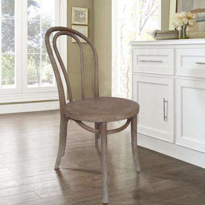 French Cafe Weathered Dining Chair (Set of 2)