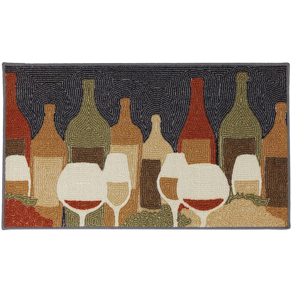 Mohawk Home Wine Play Multi 2 Ft X 3 Area Rug