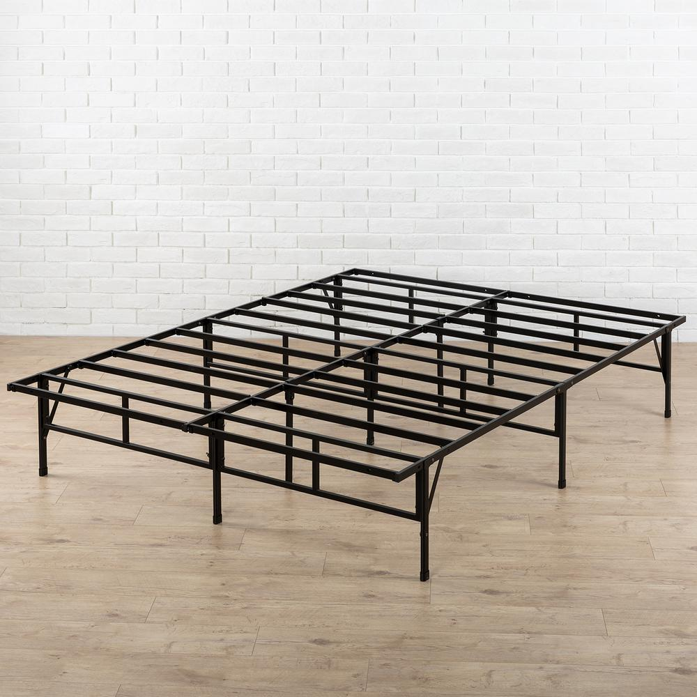 Zinus 14 in. Full Easy-to-Assemble SmartBase Mattress Foundation-HD ...