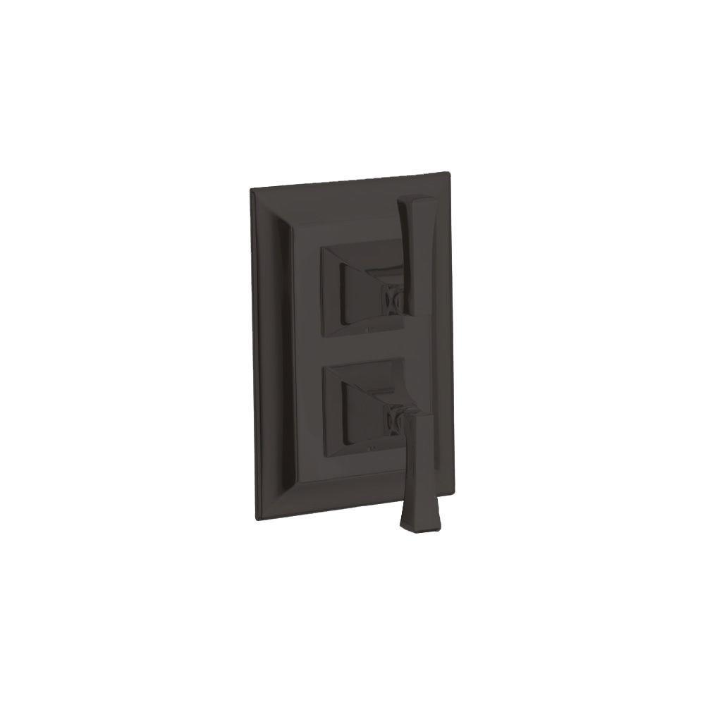 KOHLER Memoirs 2-Handle Valve Trim Kit in Oil-Rubbed Bronze (Valve Not Included)