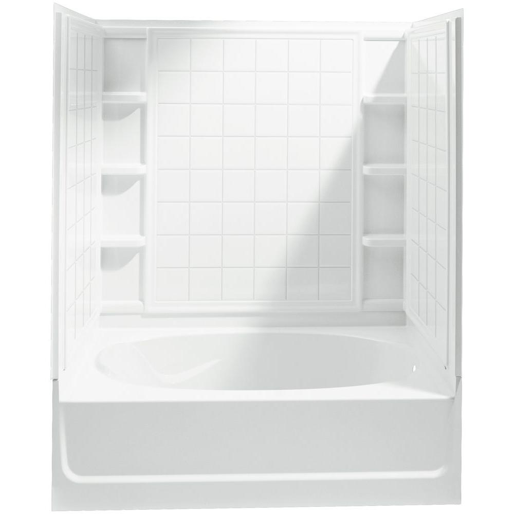 STERLING Ensemble 60 In. X 36 In. X 72 In. Bath And Shower