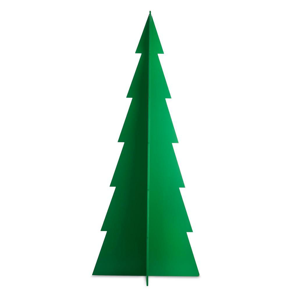 60 in. Christmas Tannenbaum Tree Decoration in Green