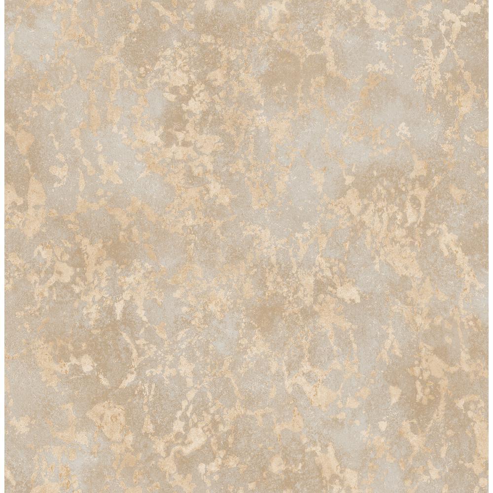 Imogen Beige Faux Marble Wallpaper Sample