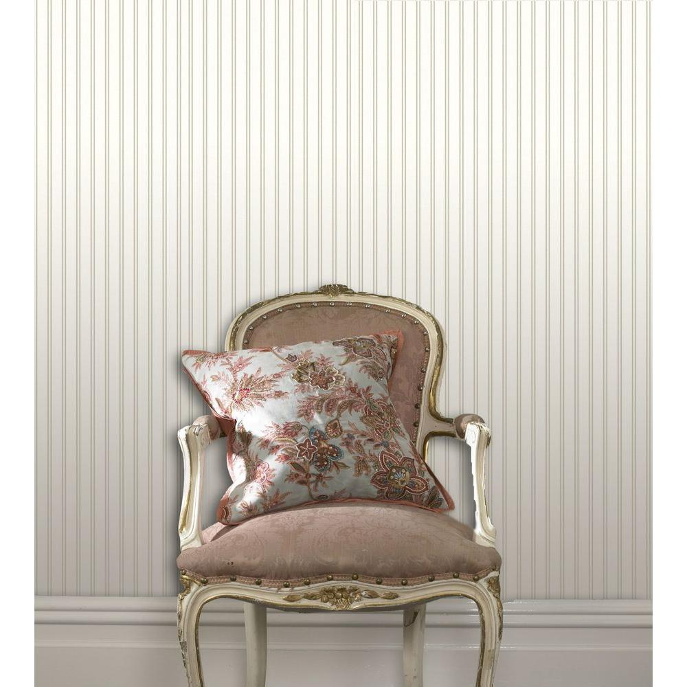 Charmant Graham U0026 Brown White Beadboard Paintable Removable Wallpaper 02 103   The  Home Depot