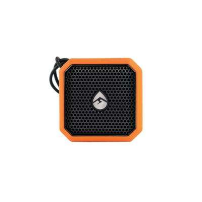 EcoPebble Lite Waterproof Bluetooth Speaker, Orange