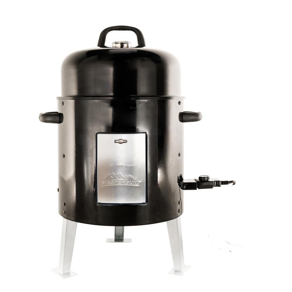 Masterbuilt electric bullet smoker 20078616 the home depot for Smoked fish in masterbuilt electric smoker
