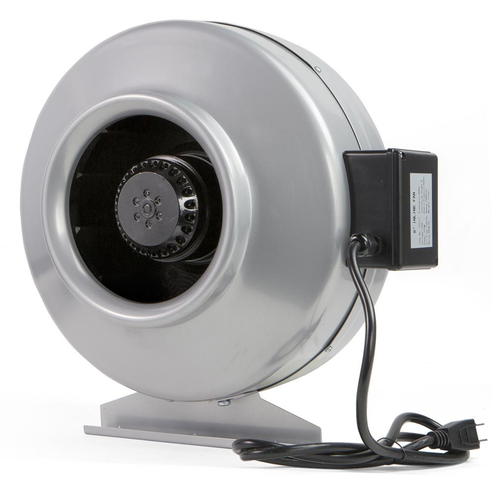 XtremepowerUS 766 CFM 8 in. Centrifugal Inline Duct Fan ...