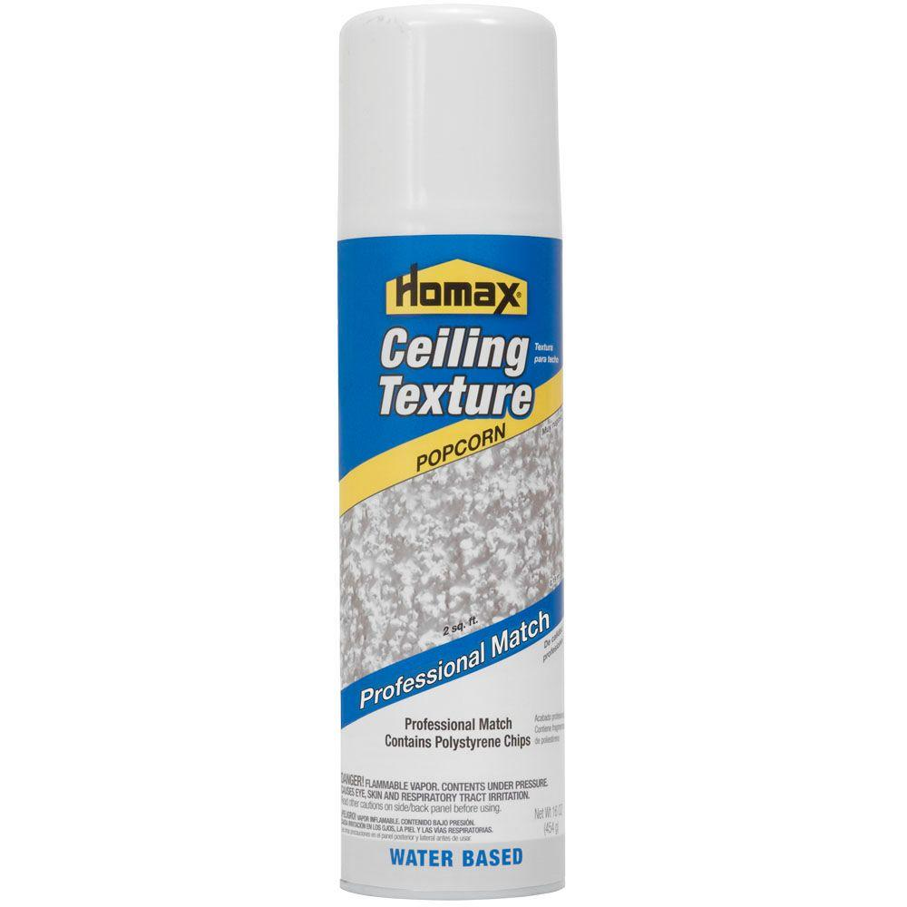 Aerosol Ceiling Popcorn Professional Match Texture 4070 06 The Home Depot